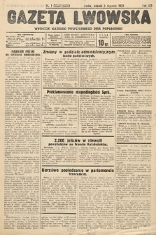 Gazeta Lwowska. 1939, nr1