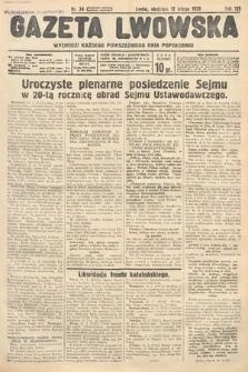 Gazeta Lwowska. 1939, nr34