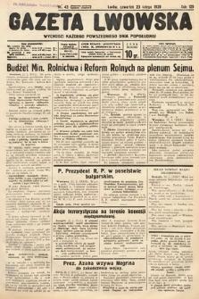 Gazeta Lwowska. 1939, nr43