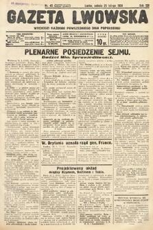 Gazeta Lwowska. 1939, nr45
