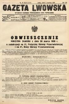 Gazeta Lwowska. 1939, nr78