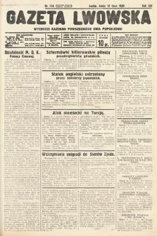 Gazeta Lwowska. 1939, nr154