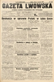 Gazeta Lwowska. 1939, nr172