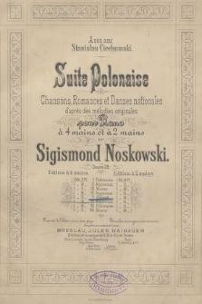 Suite polonaise : chansons, romances et danses nationales d'apres des mélodies originales : pour piano à 4 mains et à 2 mains : oeuvre 28. 5, Oberek