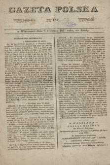 Gazeta Polska. 1827, N. 154 (6 czerwca)