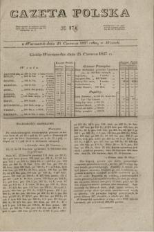 Gazeta Polska. 1827, N. 173 (26 czerwca)