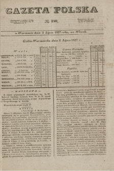 Gazeta Polska. 1827, N. 180 (3 lipca)