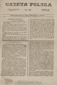 Gazeta Polska. 1827, N. 181 (4 lipca)