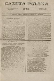 Gazeta Polska. 1827, N. 182 (5 lipca)