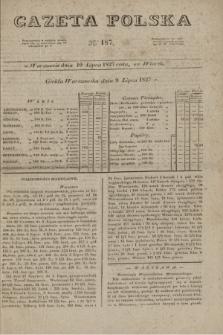 Gazeta Polska. 1827, N. 187 (10 lipca)