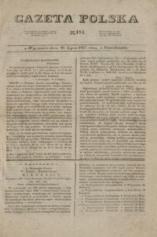 Gazeta Polska. 1827, N. 193 (16 lipca)