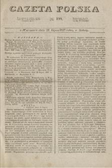 Gazeta Polska. 1827, N. 198 (21 lipca)