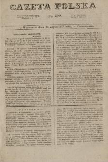 Gazeta Polska. 1827, N. 200 (23 lipca)