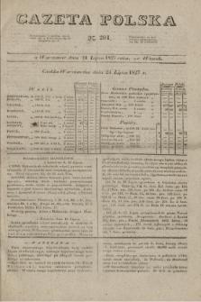 Gazeta Polska. 1827, N. 201 (24 lipca)