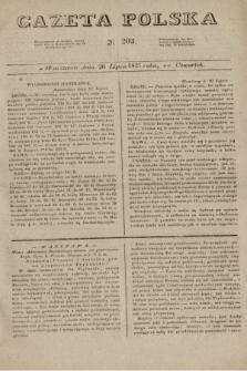 Gazeta Polska. 1827, N. 203 (26 lipca)