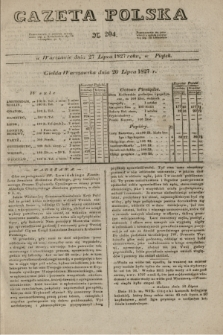 Gazeta Polska. 1827, N. 204 (27 lipca)