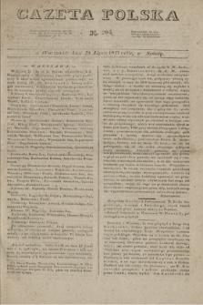 Gazeta Polska. 1827, N. 205 (28 lipca)