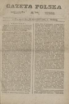 Gazeta Polska. 1827, N. 206 (29 lipca)