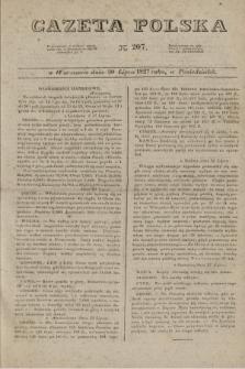 Gazeta Polska. 1827, N. 207 (30 lipca)