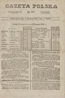 Gazeta Polska. 1827, N. 211 (3 sierpnia)