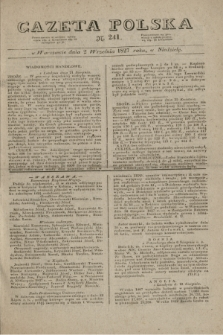 Gazeta Polska. 1827, N. 241 (2 września)
