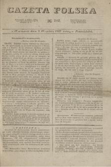 Gazeta Polska. 1827, N. 242 (3 września)