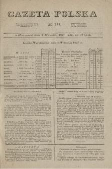 Gazeta Polska. 1827, N. 243 (4 września)