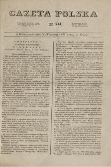 Gazeta Polska. 1827, N. 244 (5 września)