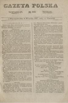 Gazeta Polska. 1827, N. 245 (6 września)