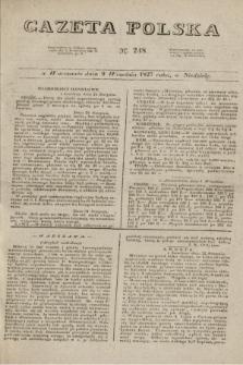 Gazeta Polska. 1827, N. 248 (9 września)
