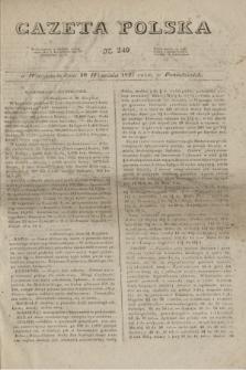 Gazeta Polska. 1827, N. 249 (10 września)