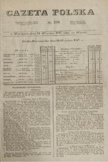 Gazeta Polska. 1827, N. 250 (11 września)