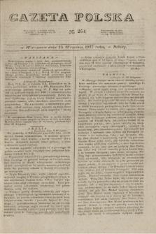 Gazeta Polska. 1827, N. 254 (15 września)