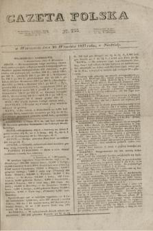 Gazeta Polska. 1827, N. 255 (16 września)
