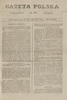Gazeta Polska. 1827, N. 256 (17 września)