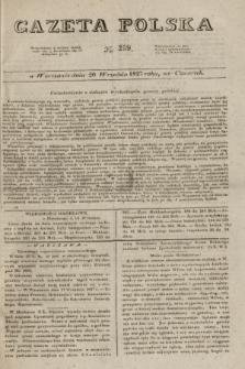 Gazeta Polska. 1827, N. 259 (20 września)