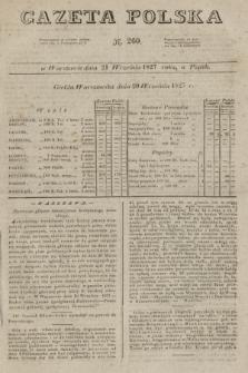 Gazeta Polska. 1827, N. 260 (21 września)