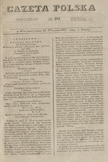Gazeta Polska. 1827, N. 261 (22 września)
