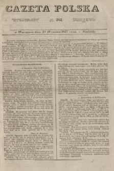 Gazeta Polska. 1827, N. 262 (23 września)