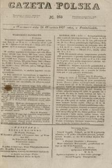 Gazeta Polska. 1827, N. 263 (24 września)