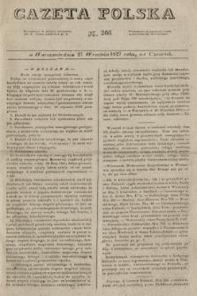 Gazeta Polska. 1827, N. 266 (27 września)