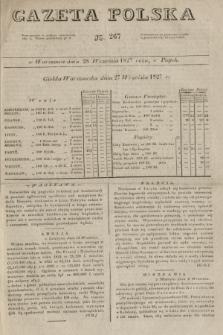Gazeta Polska. 1827, N. 267 (28 września)