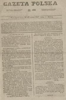 Gazeta Polska. 1827, N. 268 (29 września)