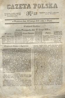 Gazeta Polska. 1828, № 53 (22 lutego)