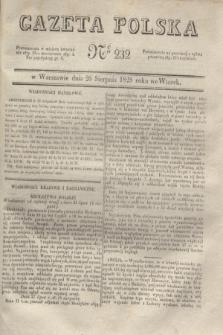 Gazeta Polska. 1828, № 232 (26 sierpnia)