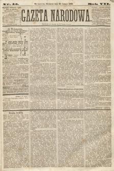 Gazeta Narodowa. 1868, nr45