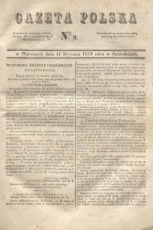 Gazeta Polska. 1830, Nro 9 (11 stycznia)