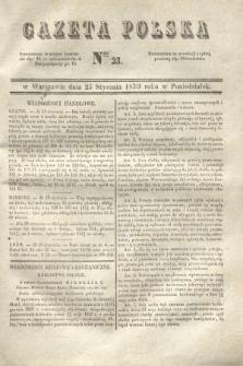 Gazeta Polska. 1830, Nro 23 (25 stycznia)
