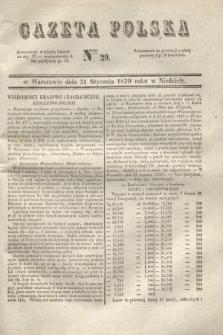 Gazeta Polska. 1830, Nro 29 (31 stycznia)