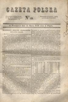 Gazeta Polska. 1830, Nro 68 (12 marca)